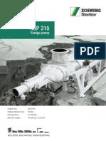 Gordon Schwing Sludge Pump Ksp 315