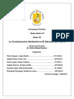 ESA Contaminacion