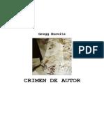 Crimen de autor - Hurwitz Gregg