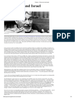 Primo Levi and Israel