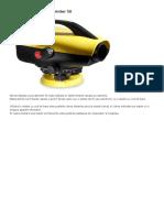 Nivela Digitala Leica Sprinter 50