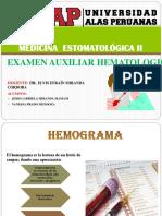 EXAMEN AUXILIAR HEMATOLOGICO