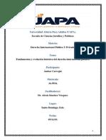 Tarea 4 de Derecho Internacional Publico y Privado.