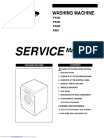 p1401 lavadora