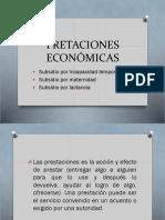 DIAPOS-PRETACIONES ECONÓMICAS