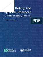 Health Policy and System Research a Methodology Reader.pdf