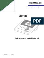 Manual Phmetro de Mesa Mod.ph_7110 Wtw