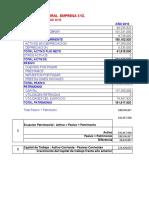 Copia de Balance General Proyectado