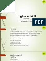 PPT Logika Induktif