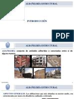 Clase 01- Albañileria