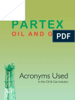 Acroynms Oil & Gas