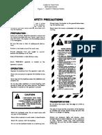 B670 Backhoe Parts Manual