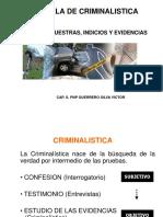 (i) Indicios y Evidencias Generalidades (1)