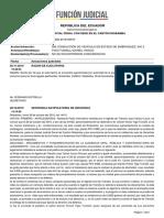 Art.385 COIP Conducción de Vehículo en Estado de Embriaguez