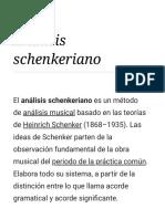 Análisis Schenkeriano - Wikipedia, La Enciclopedia Libre