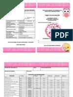 Tarjeta de Vacunacion