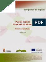 Plan de Negocio - Academia de Música