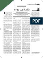 Clasificación Del Despido - Autor José María Pacori Cari