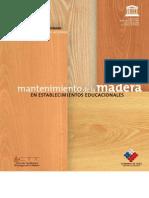 Guía nº 5 de Mantenimiento de la Madera en Establecimientos Educacionales