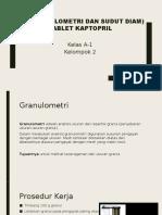 IPC ( Granulometri Dan Sudut Diam)
