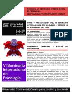 Resumen Vi Seminario Internacional de Psicología