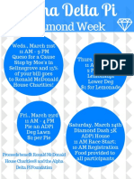copy of diamond week poster