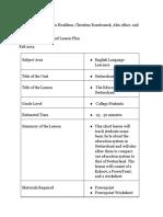 educ 359 culture lesson plan
