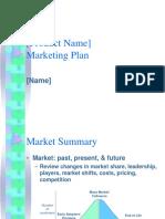 Business Plan Marketing Presentation Template