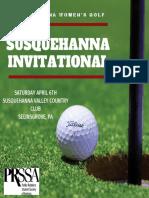 susquehanna invitational instagram post
