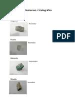 Información-cristalográfica