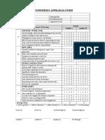 Appraisal Form Engineering