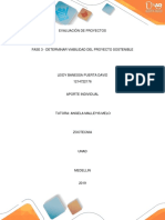 Ev_fase 3 - Determinar Viabilidad Del Proyecto Sostenible
