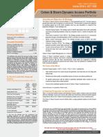 AAM- Dynamic Income 2019-3 Fee