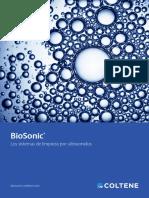 Lavadora de instrumental biosonic