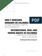 OING y Derechos Humanos en Colombia. Un