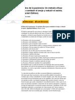 El Libro de La Paciencia Un Mtodo Eficaz Para Combatir El Enojo y Reducir El Estrs Spanish Edition by Alberto Atala b01io2osmq