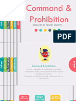 Command and Prohibitionl