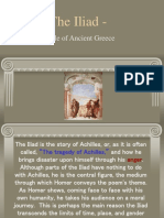 The Iliad - Background Information