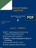 GP- 07 - PMBOK