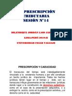 PPT-N°14-PRESCRIPCIÓN TRIBUTARIA- (1)-