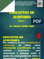 Clase 1_concepto de Auditoria