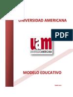 Modelo Educativo Uam 2012