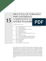 Cap. 15 Procesos Mat. Matriz Polimérica
