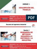 1 Sesion IM1 C Desarrollo Historico de La Ingenieria de Metodos