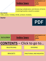 index laws