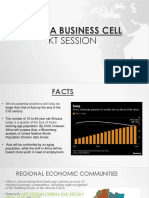 African Business Cell Kt Ppt