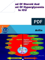 Use Steroid and Management Hiperglikemia in Icu