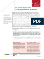 Does CEO emotional bias affect performance.pdf