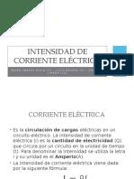 Intensidad de Corriente Eléctrica