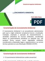 AULA 5_Licenciamento Ambiental_caracterização_tipos de Licença_atividades Sujeitas